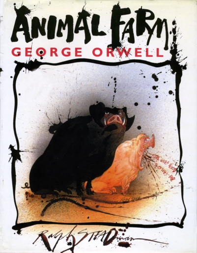 Animal Farm book cover
