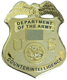 Army CI Badge
