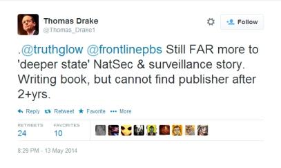 Drake tweet - May 2014