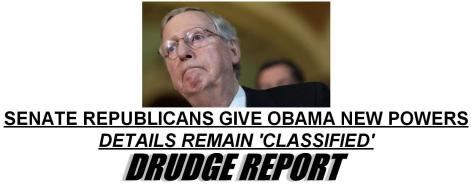 Drudge Report headline