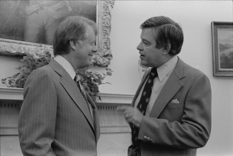 Frank Church & Pres. Carter (1977)