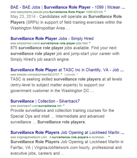 Google results - SRP Jobs