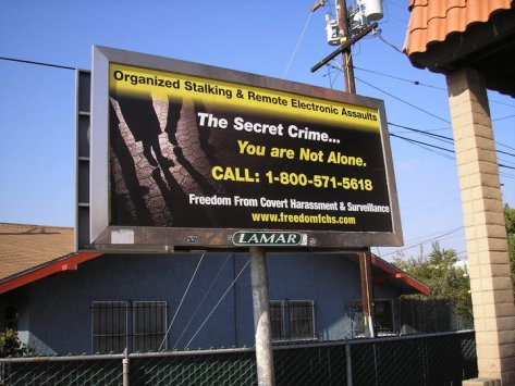 GS Billboard in Pacific Palisades Jan. 2011