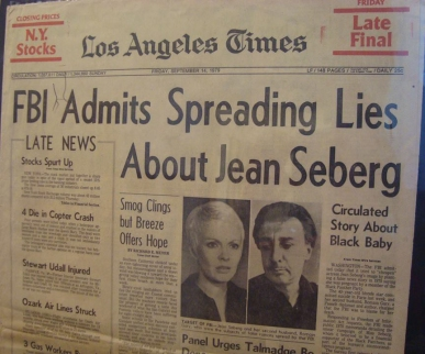 LA Times article on Seberg