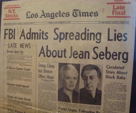 LA Times article on Seberg
