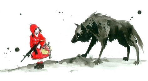 Little Red Riding Hood by Lora Zombie CROPPED