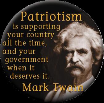 Mark Twain on Patriotism