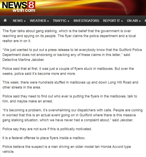 News 8 Flyers Report
