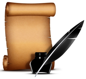 Scroll and Pen