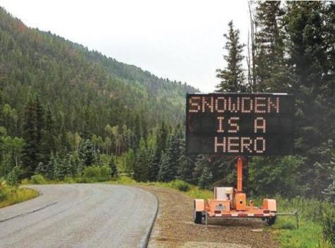 Snowden Message