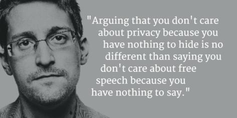 Snowden quote