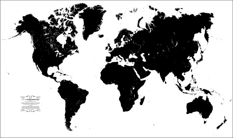 world map 01